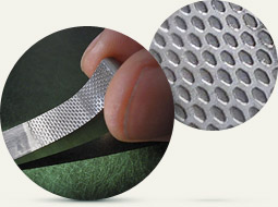 "The sample of aerodynamic surface with structurization of the surface microrelief of the ""Sharkskin"" type"
