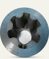 Swage die for manufacturing of holder of CV joint