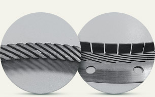 Push broach cutting of narrow grooves in rings of finger seals for air-to-air and air-oil cavities